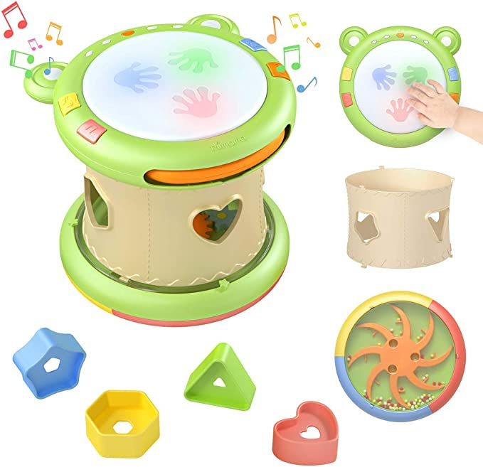 397 opinioni per TUMAMA Musicale Giocattolo per Neonati,Strumenti Musicali per Bambini,Tamburo