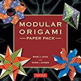 Modular Origami Paper Pack: 350 Colorful Papers Perfect for Folding in 3D (English Edition)
