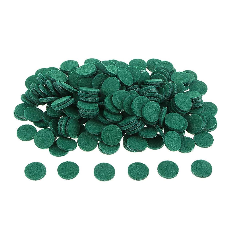 時期尚早発信比較gazechimp 約200個入り 詰め替えパッド アロマオイルパッド パッド 詰め替え エッセンシャルオイル 部屋 全11色 - 緑