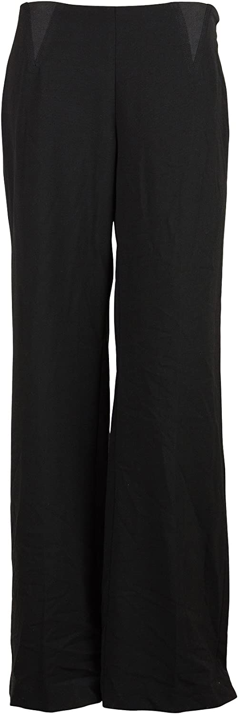 Alfani Womens Wide Leg Elastic Panel Side Zip Pants