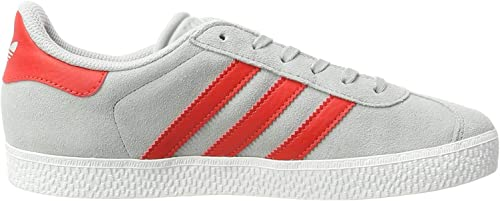 CHAUSSURES ADIDAS GAZELLE J GRISE ROUGE BB2505