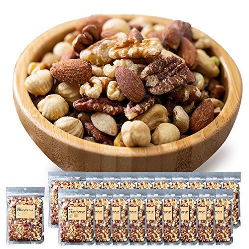 ミックスナッツ 300g 7種類 ナッツ MIXナッツ 20個セット おやつ おつまみ アーモンド くるみ カシューナッツ ピスタチオ マカダミアナッツ ピーカンナッツ ヘーゼルナッツ