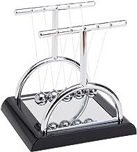 مجموعه های THY منحصر به فرد نیم دایره Newtons گهواره توازن با آینه 5.5 اینچ میز دکوراسیون بالا اسباب بازی حرکت جنبشی جنبشی برای خانه و دفتر