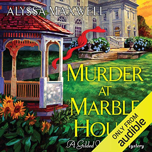 『Murder at Marble House』のカバーアート