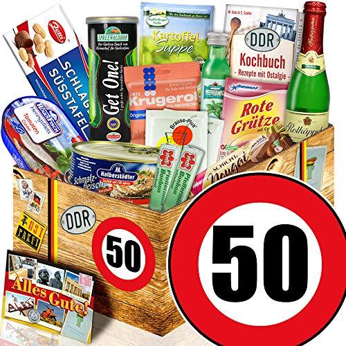Geschenk Spezial / Ostalgie Geschenkset L / Geburtstag 50 / Geschenk Mama