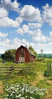 Americas Byways~Farm Scene Digital Panel 23 x 44 by Hoffman