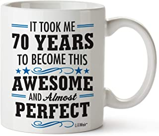 70th Birthday Gifts For Women Men Seventylicious 70th Bday Gifts 70 Year Old