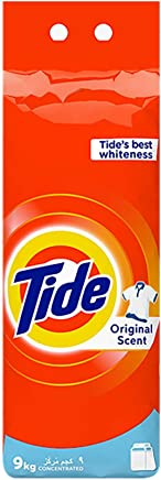 Tide Automatic Original Scent Detergent Powder - top load - 9 Kg, Pack of 1