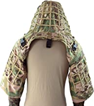 LytHarvest Sniper Ghillie Suit Foundation, Ripstop, Camouflage Tactical Ghillie Hood