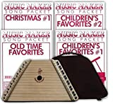 European Expressions Music Maker Lap Harp with Case and 4 Songsheet Packs