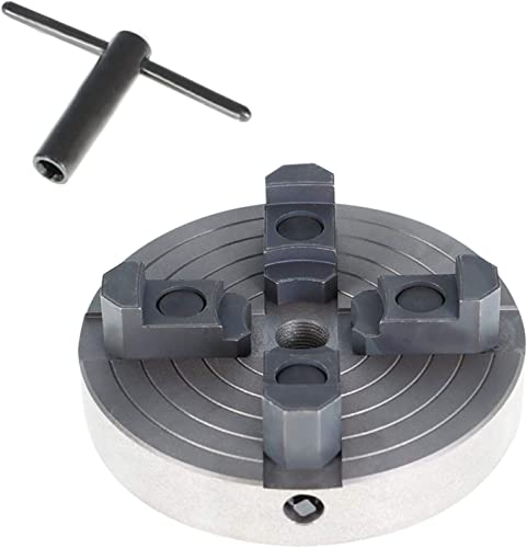 new arrival findmall high quality 6 popular Inch 4-Jaw Lathe Chuck with 3/4 x 16 TPI Thread online