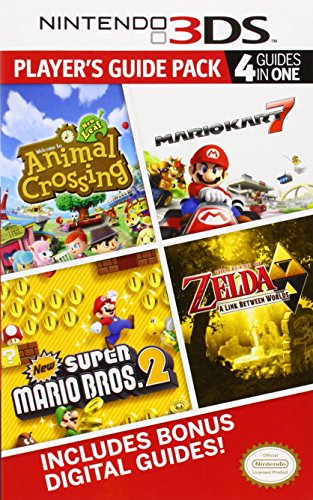 Nintendo 3DS Player's Guide Pack: Animal Crossing: New Leaf/Mario Kart 7/New Super Mario Bros. 2/The Legend of Zelda: A Link Between Worlds: Prima Official Game Guide