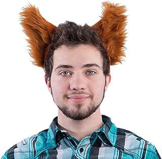 Pawstar Classic Wolf Ear Headband Costume Furry Ears