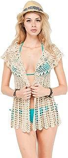 POL Women's Chrissy Crochet Cardigan Coverup