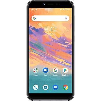 UMIDIGI A3S SIMフリースマートフォン Android 10 HD+ 5.5インチ ディスプレイ 2 + 1カードスロット 16MP+5MPデュアルカメラ 13MPインカメラ グローバルLTEバンド対応 両面2.5D曲線ガラス 2GB RAM + 16GB ROM (256GBまでサポートする) 顔認証 指紋認証 技適認証済 au不可「グレー」