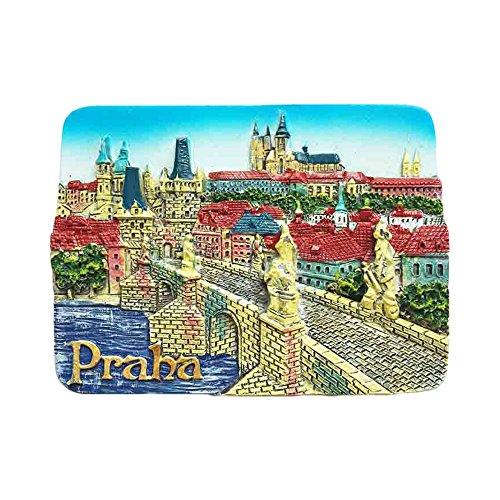 Praga Ceca 3D frigorifero magnete Viaggio Sticker Souvenirs,Casa & Cucina Decorazione Ceca Frigo Magnetico dalla Cina