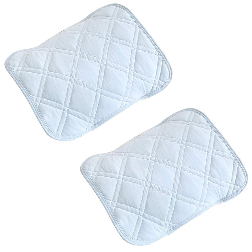 アドバンテージバット英語の授業がありますsea-maid ひんやり枕 接触冷感 枕パッド マットカバー 抗菌防臭 涼感通気吸湿吸汗速乾?夏用寝具【2枚組】45X55cm 水色 (水色, 45X55cm)