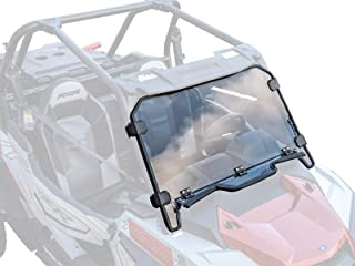 SuperATV Heavy Duty Standard Polycarbonate Vented Full Windshield for Polaris RZR XP 1000 (2019+) - Easy to Install!
