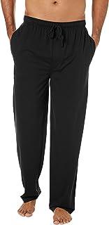 Mens Pyjama Bottoms,Pyjamas Pants 100% Cotton Sleep Long Lounge Pants Sleepwear Nightwear Trousers