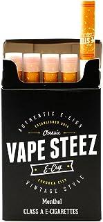 VAPE STEEZ 使い捨て 電子タバコ たばこ型 5本セット 吸引回数300回 VAPE (MENTHOL)