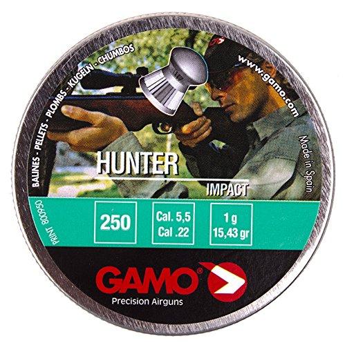 Gamo Pellets Hunter (Round Nose) .22 Cal. Tin of 250
