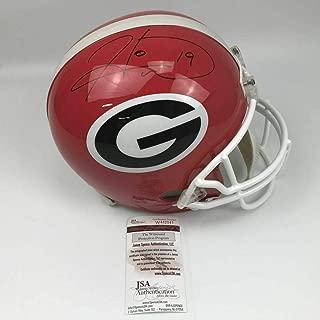 hines ward autographed helmet