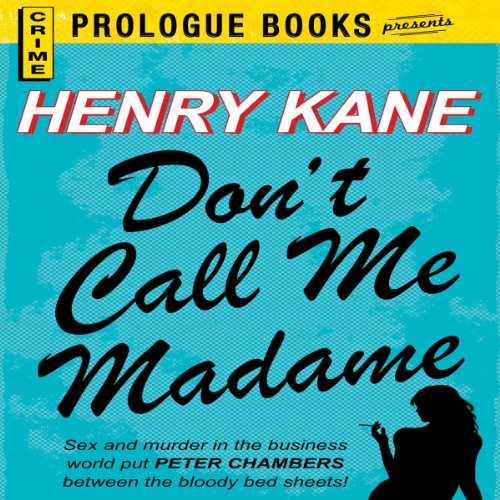 Don't Call Me Madame cover art