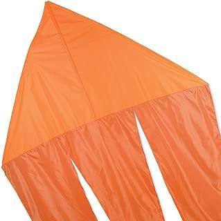 6.5 Ft. Flo-Tail Delta Kites - Neon Orange