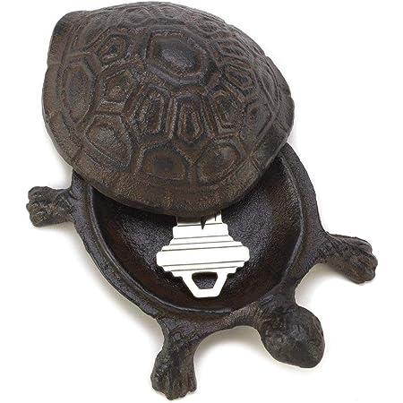 Key Hider Shell Handmade Antique Rust colour dimension 125x125x50mm Cast Iron