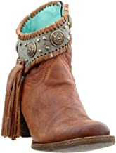 Corral Boots Women's A3196 Cognac/Turquoise 8 B US