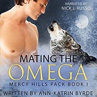Mating the Omega audiobook cover art