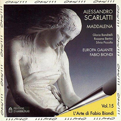 """La Maddalena penitente, Parte prima """"Il trionfo della gratia"""": Non piango (Aria)"""