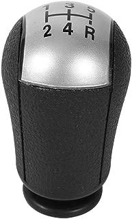 Shift Knob, Car 5 Speed Shift Knob Compatible for Focus Mondeo MK3 Mustang S-MAX Galaxy (Color : Gray)