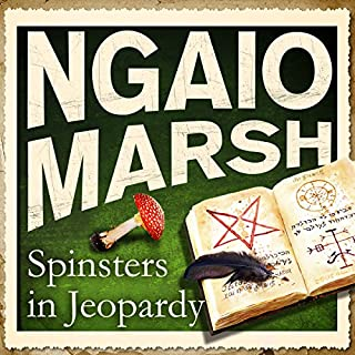 Spinsters in Jeopardy audiobook cover art