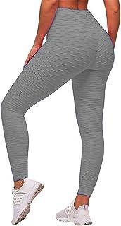 044f9e9377 SEASUM Women's High Waist Yoga Pants Tummy Control Slimming Booty Leggings  Workout Running Butt Lift Tights