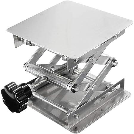 45-150 mm Tavolo regolabile da laboratorio regolabile in acciaio inossidabile per forbici da laboratorio Piattaforma elevatrice per attrezzi Attrezzatura da laboratorio