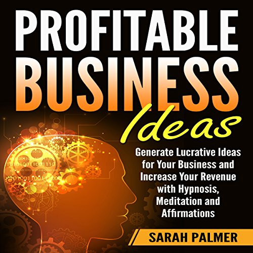 Profitable Business Ideas audiobook cover art