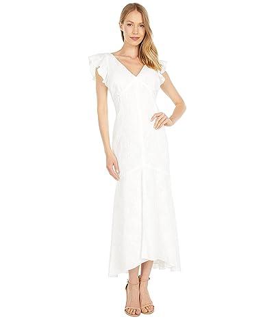 LAUREN Ralph Lauren Embroidered Cotton Drop-Waist Dress