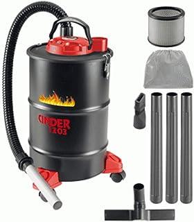 Aspiradora de 1200 W de 29 l CINDER 1203 para cenizas calientes hot ash vacuum cleaner 1350135 ideal para chimeneas estufas y limpieza de pellets de carbono