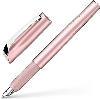 pennino e impugnatura per mancini Per destrordi F/üllhalter M bianco//grigio Schneider 168403 penna stilografica Ray