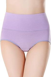 Komfort-Slip Mit Hoher Taille Reine Farbe Lose Freizeit Unterleibshose Tummy Control Panties Yebutt