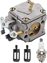 Mannial Carburetor Carb fit STIHL 041 041AV 041 Farm Boss Gas Chainsaw with Fuel Filter & Spark Plug