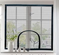 Indoor Window Safety Protection for Cat,Universele Anti-Mosquito Window Mesh Nets Met Ritssluiting,Vliegscherm Insect Bugs...