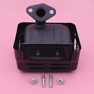 HAOHAO Silenciador de Escape w Kit Stud Nut for Honda GX120 GX160 GX200 168F generador y Motor de Parte de reemplazo 18310-ZF1-000