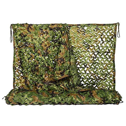 ZHJBD Camouflage 210D Dubbele Laag Camouflage Net Outdoor Camping Vogel Kijken Decoratie Camouflage Net (Maat: 2x3M)