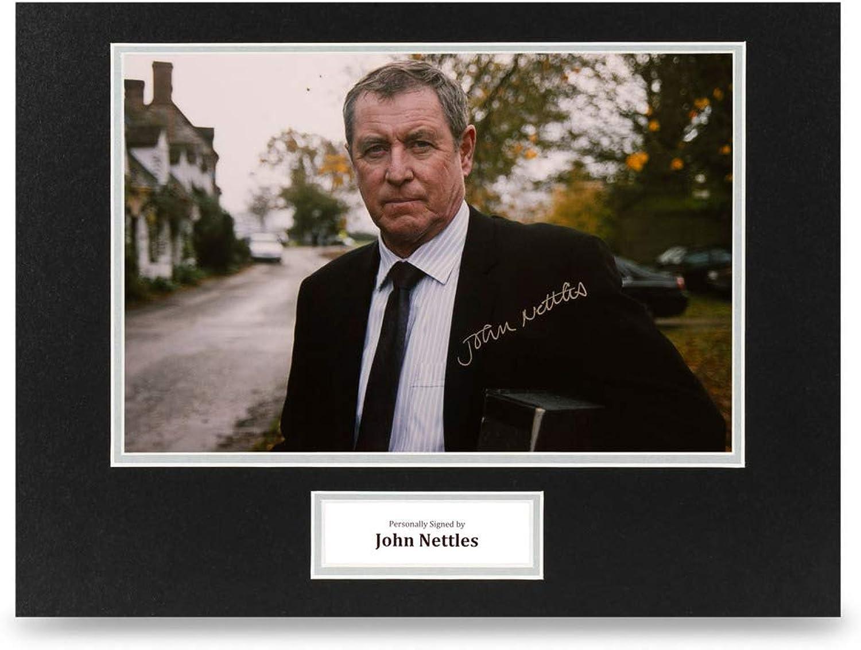 John Nettles Signed 16x12 Photo Display Midsomer Murders Autograph Memorabilia
