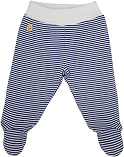 Baby Pants, Footed Joggers, 100% GOTS Organic Certified, 100% Cotton Unisex Trousers, Teddley's Signature Col. Baby Leggin...