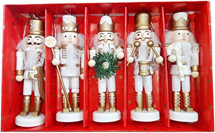 15 Inch Nutcracker King Wooden Soldier Nutcracker Decoration Figures Puppet Toys Home Decor A TSY Wooden Nutcracker Ornaments Christmas Decoration