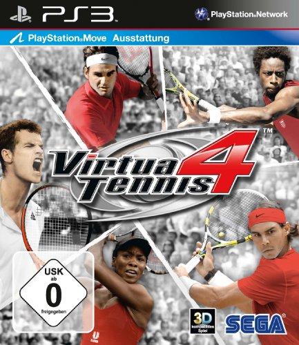 Virtua Tennis 4 (Move Unterstützung) [Importación alemana]