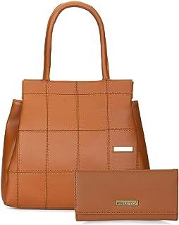 Fristo Women's Handbag & Clutch(Tan)
